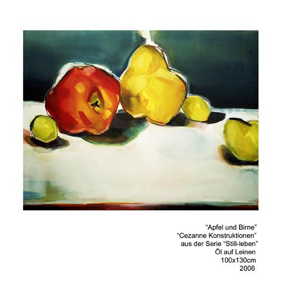 cezanne stilleben med äpplen